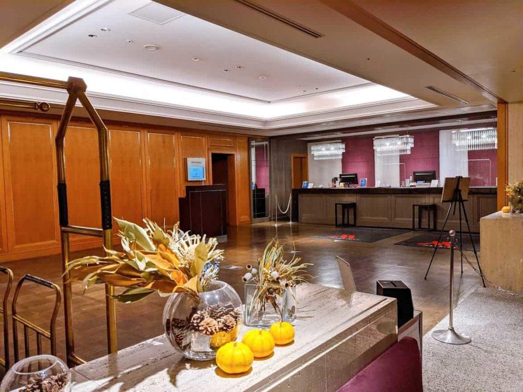 東京マリオットホテル-エグゼクティブフロア-宿泊レビュー