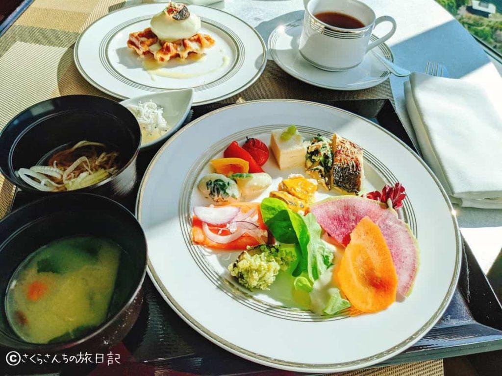コンラッド東京の朝食(風花にて)