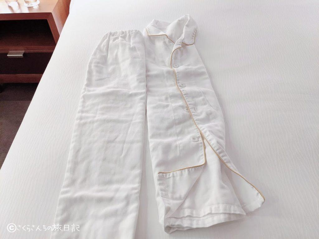 コンラッド東京のパジャマ