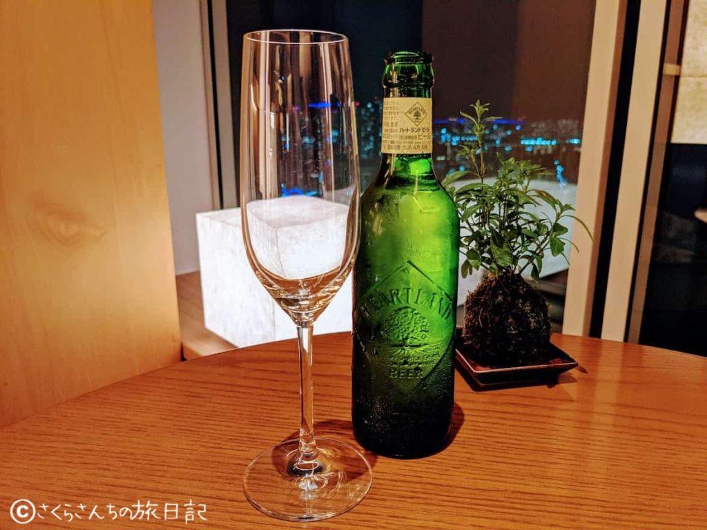コンラッド東京のエグゼクティブラウンジのお酒